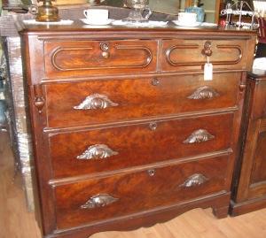 Dresser with Mustache Pulls c. 1880's $565.